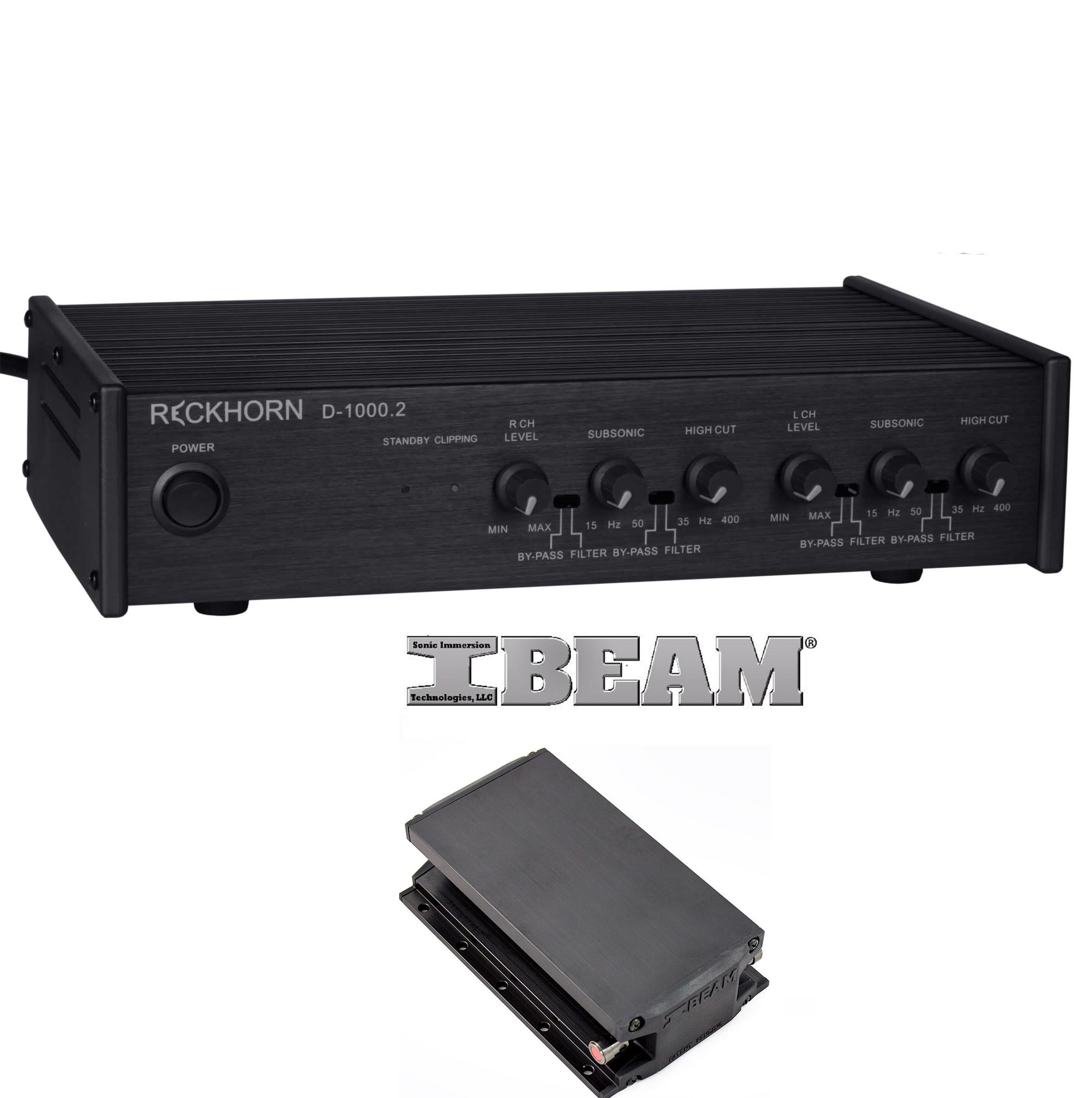 reckhorn d 1000 2 digitaler stereo oder 2 x mono subwoofer. Black Bedroom Furniture Sets. Home Design Ideas