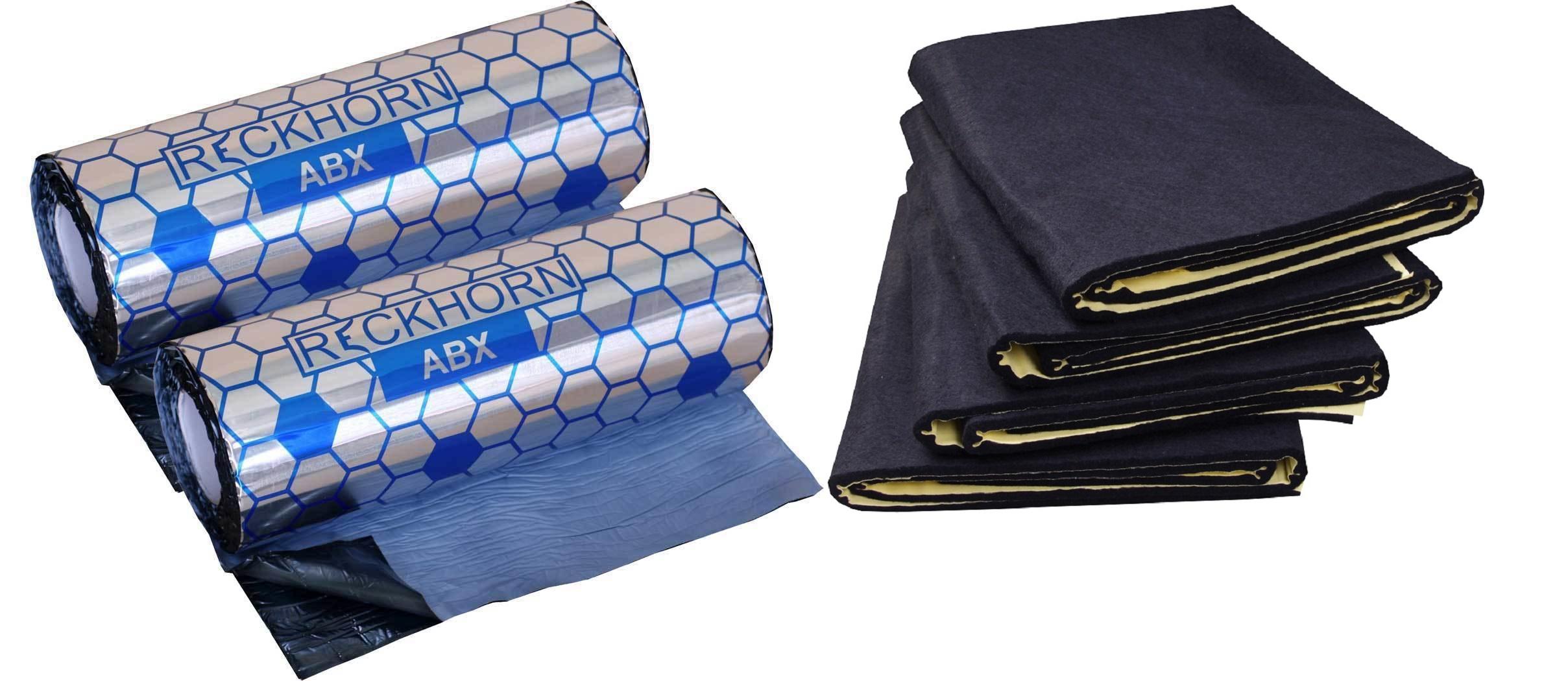 reckhorn 2 x abx 2 mm alubutyl und 1 x neu dv 10i d mmvlies 4 matten. Black Bedroom Furniture Sets. Home Design Ideas
