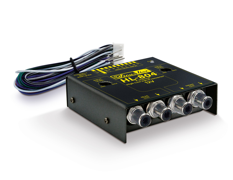 sinuslive hl 804 high low level converter 4 kanal mit remote. Black Bedroom Furniture Sets. Home Design Ideas